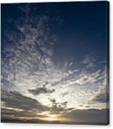 Scenic Sunset Over Malapascua Island Canvas Print