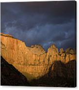 Scenic View Of Zion National Park Canvas Print