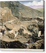 Schliemanns Excavation Canvas Print