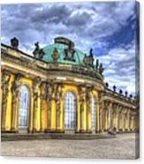 Schloss Sanssouci     Berlin Canvas Print