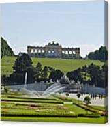 Schonbrunn Palace Gardens  Canvas Print
