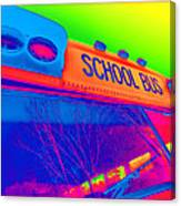 School Bus Canvas Print