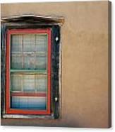 School House Window Canvas Print