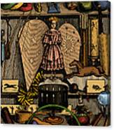 Science In The Nursery, Frontispiece Canvas Print