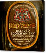 Scotch Whisky Canvas Print