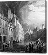 Scotland: Aberdeen, 1833 Canvas Print
