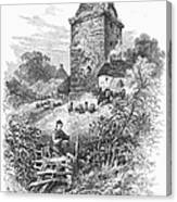Scotland: Gilnockie Tower Canvas Print