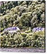Scotland Homes Canvas Print