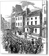 Scotland: Perth, 1848 Canvas Print