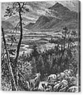 Scotland: Spey Valley Canvas Print
