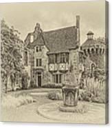 Scotney Castle Canvas Print