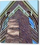 Scott County Courthouse Corner Detail Canvas Print