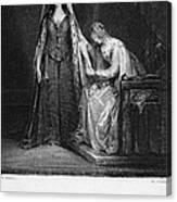 Scott: Ivanhoe, 1832 Canvas Print
