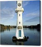 Scott Memorial Roath Park Cardiff Canvas Print