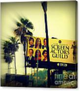 Screen Actors Guild In La Canvas Print