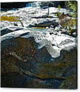 Screw Auger Falls Top 2 Canvas Print