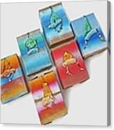Sea Boxes Canvas Print