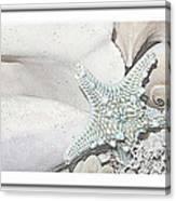 Sea Foam In Pastels Canvas Print