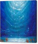 Sea Galaxy Canvas Print