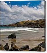 Sea Landscape With Bay Beach Canvas Print