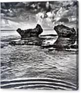 Sea Ripples Canvas Print