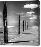 Sea Sand And Steel Canvas Print
