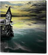 Seagull Island Canvas Print