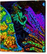 Seahorse Mosaic Canvas Print