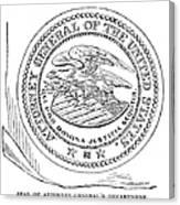 Seal: Attorney General Canvas Print