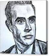 Sean Connery Canvas Print