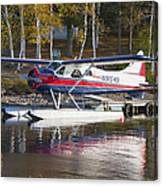 Seaplane On Moosehead Lake In Maine Canvas Photo Poster Print Canvas Print