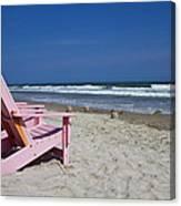 Seas The Chair  Canvas Print