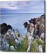 Seascape From Coast Of Clogherhead Canvas Print