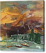 Seascape Impression In Spain 02 Canvas Print