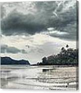 Seascape Panorama Canvas Print