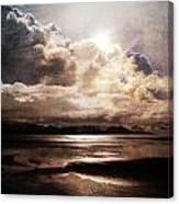 Seaside Cloudscape Canvas Print