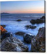 Seaside Rocks Canvas Print