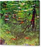 Seasons Reflect Canvas Print