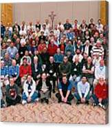 Seattle Archdiocese 2008 Priests. Canvas Print