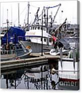 Seattle Fishermans Terminal Canvas Print