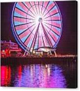 Seattle Great Wheel 2 Canvas Print