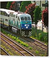 Seattle Sounder Train Canvas Print