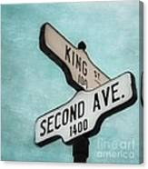 second Avenue 1400 Canvas Print