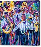 Second Line Canvas Print