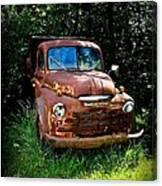 Second Vintage Dodge Truck Canvas Print