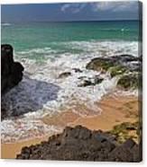 Secret Beach Kauai Canvas Print