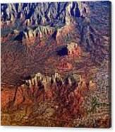 Sedona Arizona Planet Earth Canvas Print