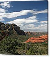 Sedona Arizona Vista Canvas Print