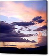 Sedona Summer Storms Canvas Print
