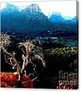 Sedona V Canvas Print